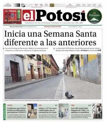 Le ofrecemos nuevamente la edición digital completa de El Potosí