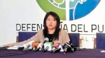 """Creen que la defensora del Pueblo debe renunciar por cumplir un papel """"vergonzoso"""""""
