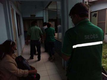 Montero prepara el traslado a Santa Cruz de la Sierra de los 18 pacientes de COVID-19