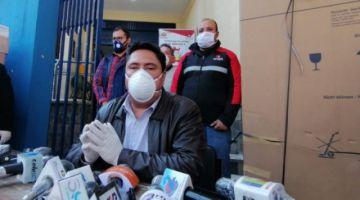 Gobierno entrega 2 mil reactivos para el segundo laboratorio en Cochabamba