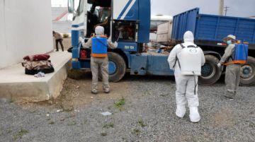 El Sedes continúa desinfección de instituciones y aquí le contamos cómo desinfectar su hogar
