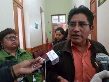 """Gobernador de La Paz habla de """"cercar"""" barrios donde se detecte pacientes con coronavirus"""