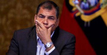 El expresidente de Ecuador Rafael Correa es condenado a ocho años de cárcel por cohecho