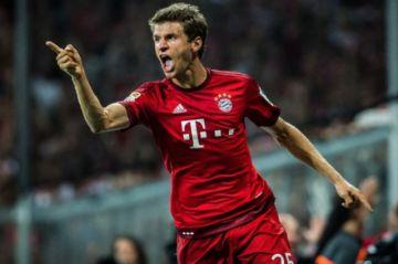 Thomas Müller prolonga su contrato con el Bayern Múnich hasta 2023