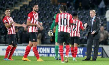 El Southampton aplaza tres meses de sueldo a sus jugadores y entrenador