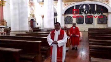 Misa de Viernes Santo desde la Catedral de Potosí
