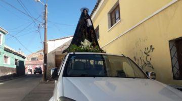 Visitamos los hogares potosinos con Jesús y su madre María