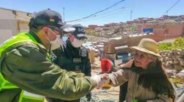 GACIP llevó ayuda a las familias de Villa Victoria esta jornada