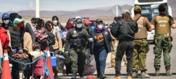 Una mesa técnica del Gobierno define si 500 bolivianos pasan la frontera con Chile