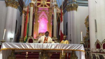 Siga aquí la misa de Domingo de Pascua