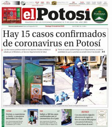 Descargue aquí la edición digital de El Potosí