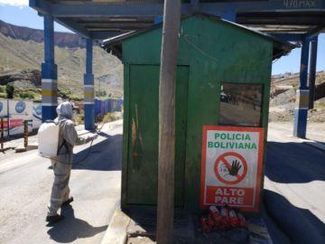 El Sedes desinfectó lugares donde habría estado la fallecida por coronavirus