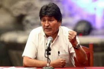 Evo dice que donará su renta de expresidente para ollas comunes en Bolivia