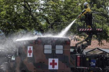 Brasil supera los 1.500 muertos y los 25.000 casos de COVID-19