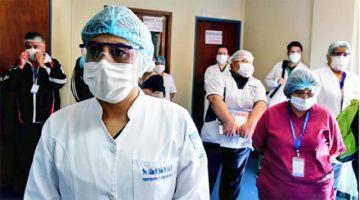 El Viedma se declara en emergencia por falta de equipos de bioseguridad