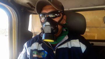 Trabajadores de EMAP reciben implementó de bioseguridad