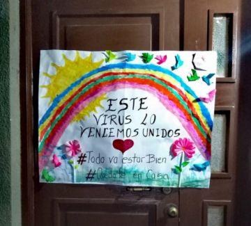 Aldeas SOS y la Alcaldía promueven difundir el mensaje #TodoVaAEstarBien