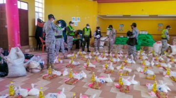 Gacip entregó más de 800 bolsas de ayuda a familias