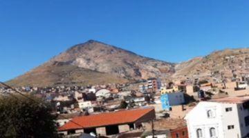 Potosí amaneció con una temperatura mínima de -2 grados