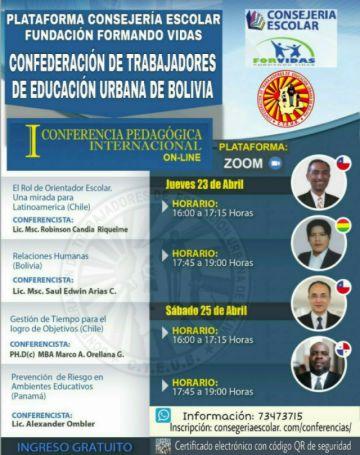 Ratifican conferencia internacional pedagógica