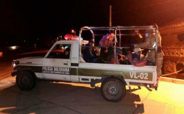 Interceptan y ponen en cuarentena a 91 personas que intentaban ingresar a Sucre