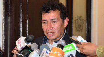 Borda anuncia proceso a la ASFI por instruir cierre de bancos en el Chapare