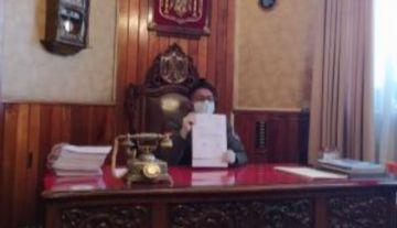 Alcalde de Potosí promulga ley para el horno crematorio