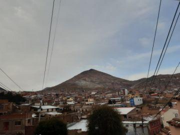 Potosí amaneció con los efectos del granizo y la nevada