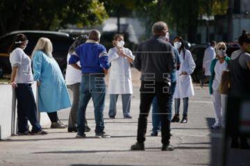 El 14 % de los contagiados por COVID-19 en Argentina son sanitarios