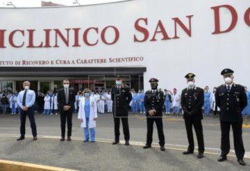 Los muertos en Italia ascienden a 22.745 y bajan contagios y hospitalizados