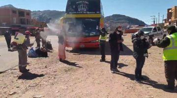 Repatriados de Chile ya están en sus comunidades en Betanzos