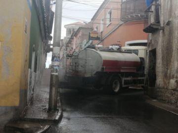 La Alcaldía continúa con la desinfección de calles