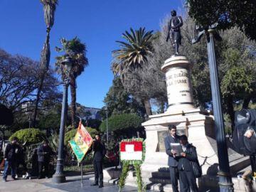 Jayme de Zudáñez... ¿presidente de Bolivia?