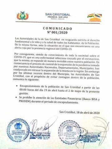 Comunidades del sudoeste potosino deciden aislarse por presencia del coronavirus