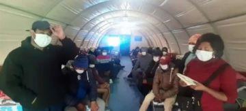 Se prevé que los 450 bolivianos que están en Iquique lleguen a Pisiga el lunes al mediodía