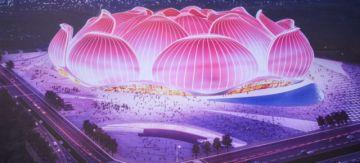 China construirá el estadio más grande