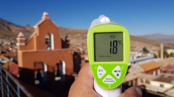 Las temperaturas mínimas ya no bajan de cero grados