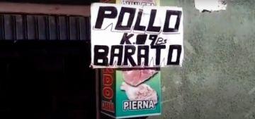 Comerciantes venden kilo de pollo en nueve Bolivianos
