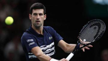 Djokovic, en contra de una vacunación obligatoria para el reinicio de los torneos
