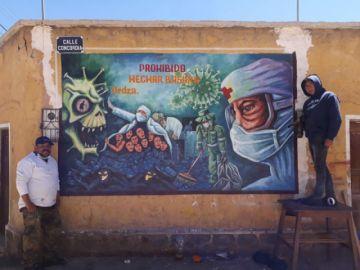 Arte de potosinos en tiempos de pandemia