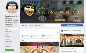 Casa Nacional de Moneda difundirá documentales en Facebook