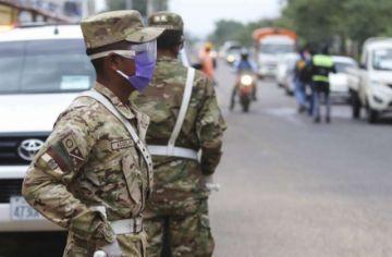 Indagan si efectivos de las FF.AA .y la Policía reciben insumos de bioseguridad