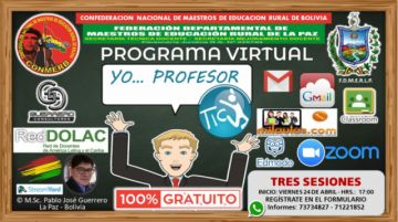 Magisterio rural realiza programa virtual gratuito