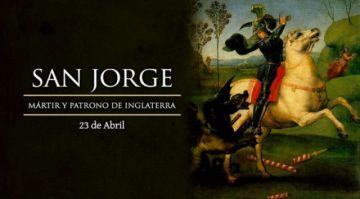 Es el día de San Jorge