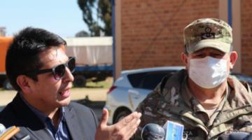 Entregan 20 vehículos al Ministerio de Defensa para apoyar atención contra el COVID-19