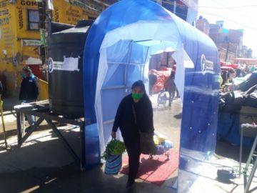 Implementan medidas de control en el mercado Uyuni