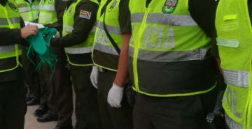 Esposas de policías piden al Gobierno garantías para los uniformados del verdeolivo