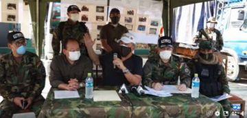 Gobierno presenta a 13 detenidos en la emboscada a una patrulla de Umopar en el Chapare
