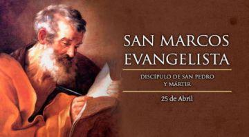 Este sábado está dedicado a San Marcos evangelista