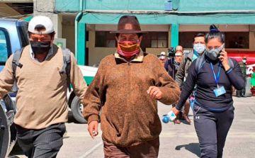 """Suspenden declaración del """"Tata"""" Quispe porque quiso hablar en aymara"""